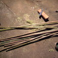 小旗用の竹